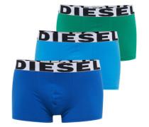 Pants im 3er-Pack hellblau / dunkelblau / dunkelgrün