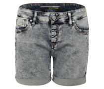 Denim-Shorts 'Pixie' blue denim