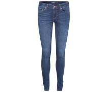 Skinny-fit-Jeans 'lux' dunkelblau