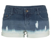 Hotpants blue denim / weiß