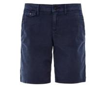 Shape Shorts: Twill-Bermuda navy