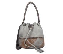 Beutel Tasche Leder 27 cm