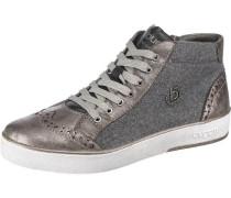 Schnür-Boots grau