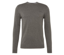 Pullover 'Basic Co crew' taupe