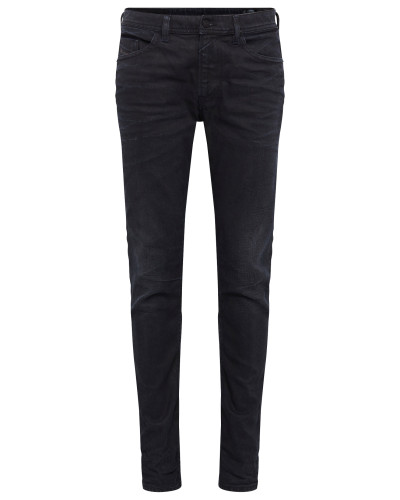 Jeans Skinny Fit 845F 'Thommer' black denim