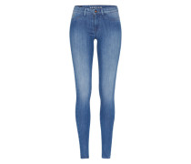 'Spray' Skinny Denim blau