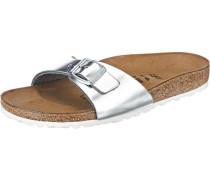 Sandale 'Madrid' silber