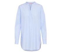 Bluse 'EliK' blau / rosa / weiß