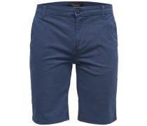Shorts Chino blau