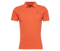 Polo-Shirt 'Garment dyed polo in lightweight pique quality' rot
