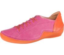Schnürschuhe 'Kapsl' pink / orange