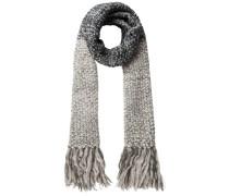 Langer Schal grau / dunkelgrau