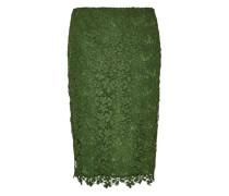 Pencil Skirt aus Spitze grün