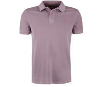 Poloshirt Polo Pique Pigment lila
