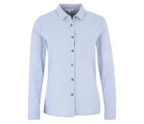 Fein gewebtes Hemd hellblau