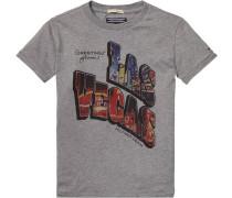 T-Shirt »Payson CN TEE S/s« graumeliert