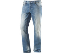 Slim Fit Jeans Herren blue denim