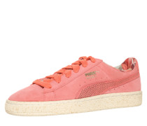 Sneaker 'Careaux' aus Veloursleder pink