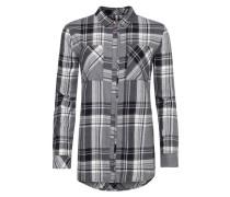 Shirt 'traveller' grau / schwarz