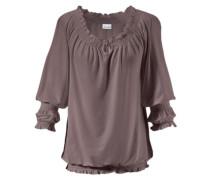 3/4-Arm-Shirt lila