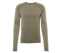 Pullover 'Knit - Malvin' dunkelgrün