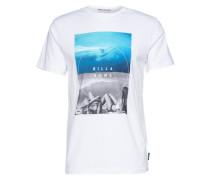 T-Shirt 'memories' weiß