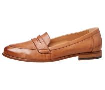 Schuhe aus Glattleder