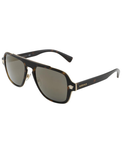Sonnenbrille braun / schwarz