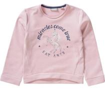 Sweatshirt Einhorn für Mädchen rosa