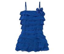 CFL Festliches Kleid mit Volants für Mädchen blau