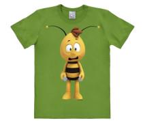"""T-Shirt """"Biene Maja -Willi 3D"""" grün"""