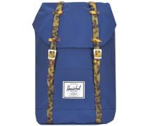 Rucksack mit Laptop-Fach 'Retreat' blau