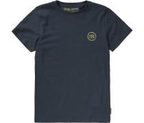 T-Shirt 'looper' blau