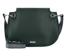 'Cordoba 6' Umhängetasche Leder 22 cm dunkelgrün