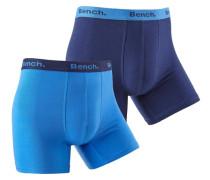 Boxer (2 Stück) blau