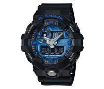 Chronograph 'ga-710-1A2Er' blau / schwarz