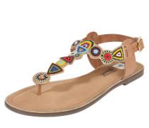 Sandalen 'Etno' nude / mischfarben