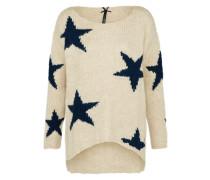 Pullover 'inspire' beige / schwarz
