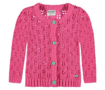Strickjackeba pink