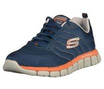 Sneaker enzian / orange / weiß