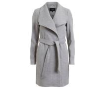 Klassische Woll-Jacke grau