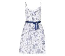 Camisolen-Kleid 'eisal' blau / weiß