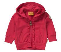 Baby Sweatjacke für Mädchen rot