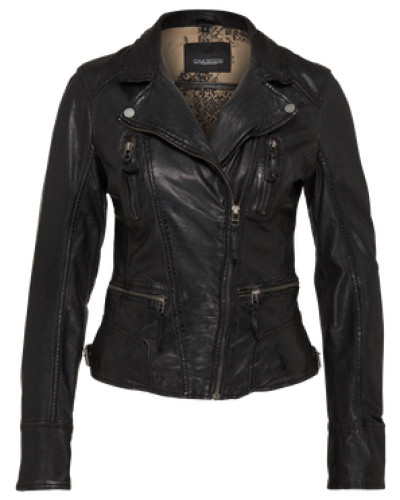 Biker-Lederjacke schwarz