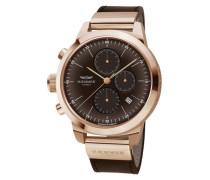 Chronograph 'lounge Hk-04' braun / bronze