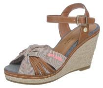 Sandaletten beige / braun
