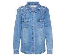Bluse 'YillaCR' blue denim