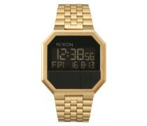 Armbanduhr 'Re-Run' gold