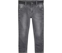 Jeans Skinny Fit für Jungen grau