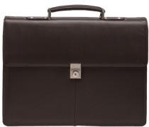 Aktentasche Leder 42 cm Laptopfach